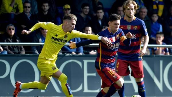 برشلونة يتعادل مع فياريال