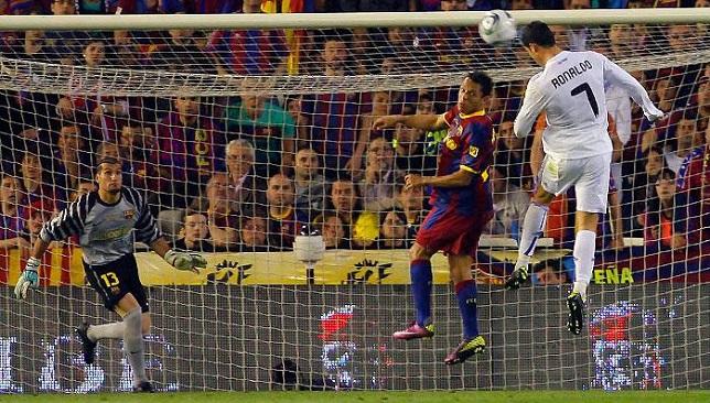 رونالدو يسجل هدف الفوز في نهائي كأس الملك 2011