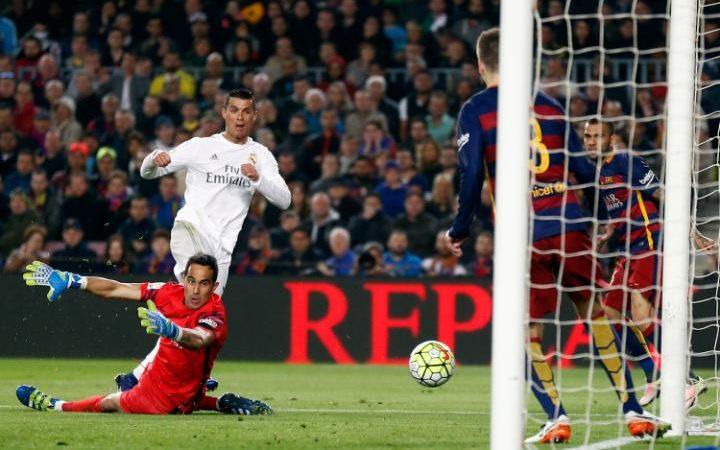 هدف رونالدو في الدروي سيساعده كثيراً في الكرة الذهبية لو خسر ميسي الدوري