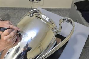 أسم ريال مدريد على لقب دوري الأبطال
