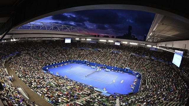 من منافسات بطولة استراليا المفتوحة