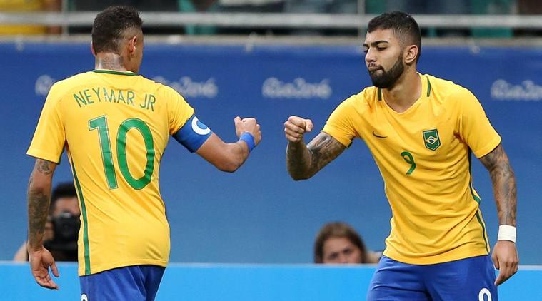Football - Men's First Round - Group A Denmark v Brazil