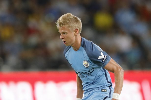 zinchenko man city