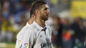 مدافع ريال مدريد الإسباني سيرجيو راموس