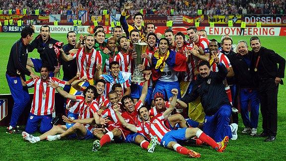 الدوري الأوروبي 2012