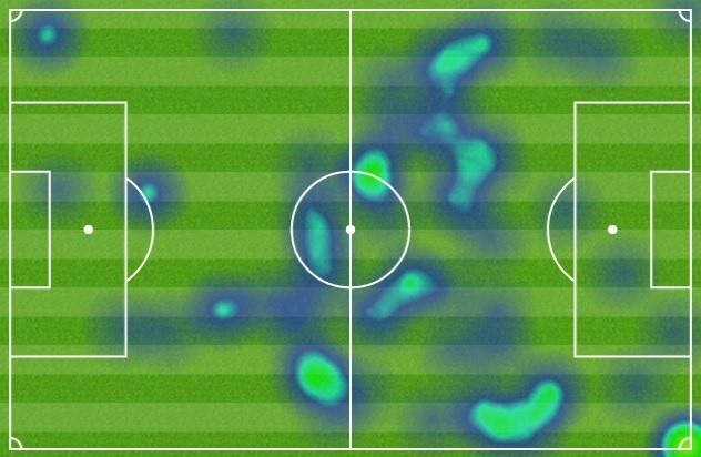 تحركات روني على أرض الملعب في مواجهة واتفورد