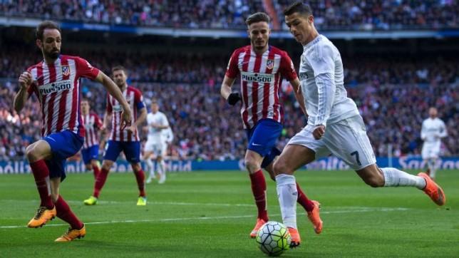 رونالدو قريب من دخول تاريخ ديربي مدريد