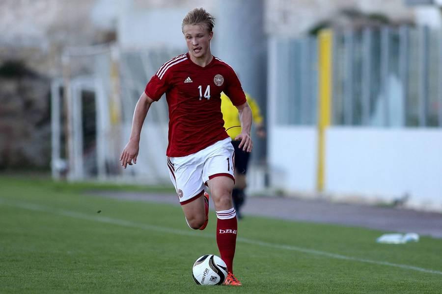 كاسبر دولبيرج مع منتخب الدنمارك