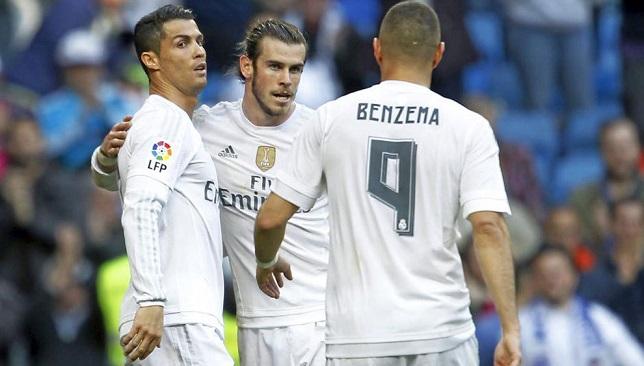 ثلاثي هجوم ريال مدريد