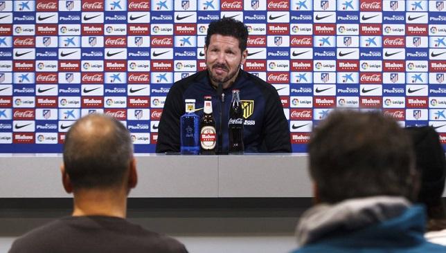 سيميوني يرفض التنازل عن لقب الدوري الإسباني