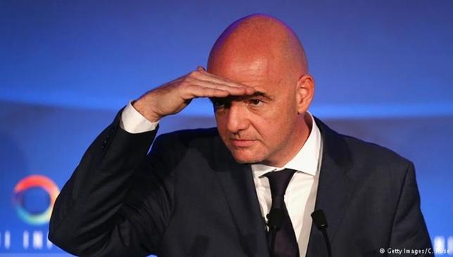 رئيس الاتحاد الدولي لكرة القدم جياني انفانتينو