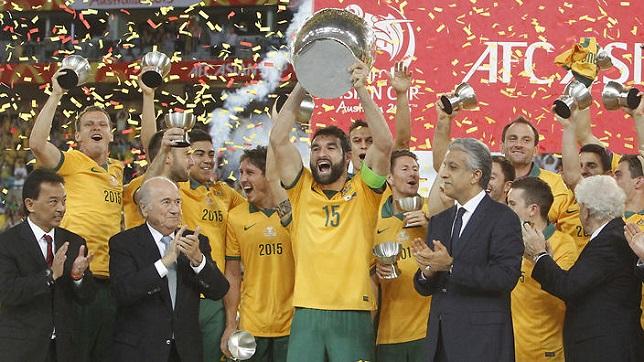 منتخب أستراليا بطل كأس آسيا 2015