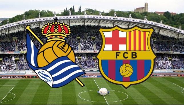 ريال سوسيداد × برشلونة