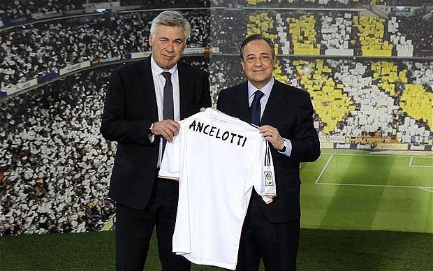 كارلو أنشيلوتي في ريال مدريد