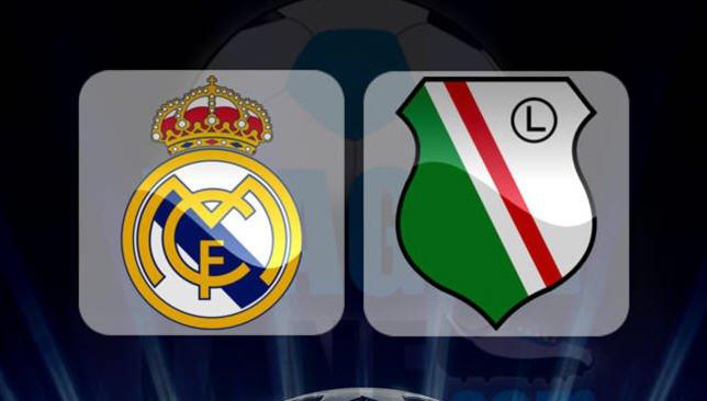 ريال مدريد × ليجيا وارسو