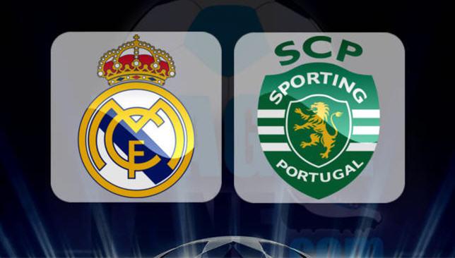 سبورتينج لشبونة × ريال مدريد