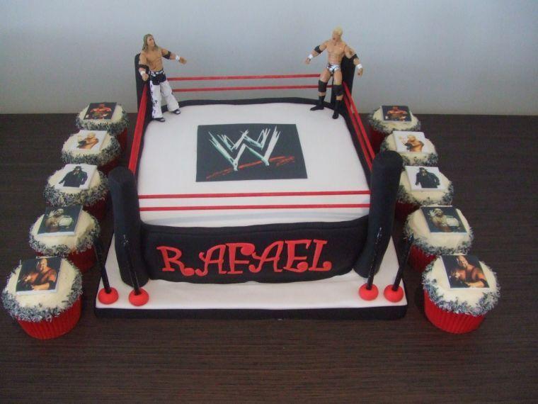 Wrestling Cake Decorations Uk
