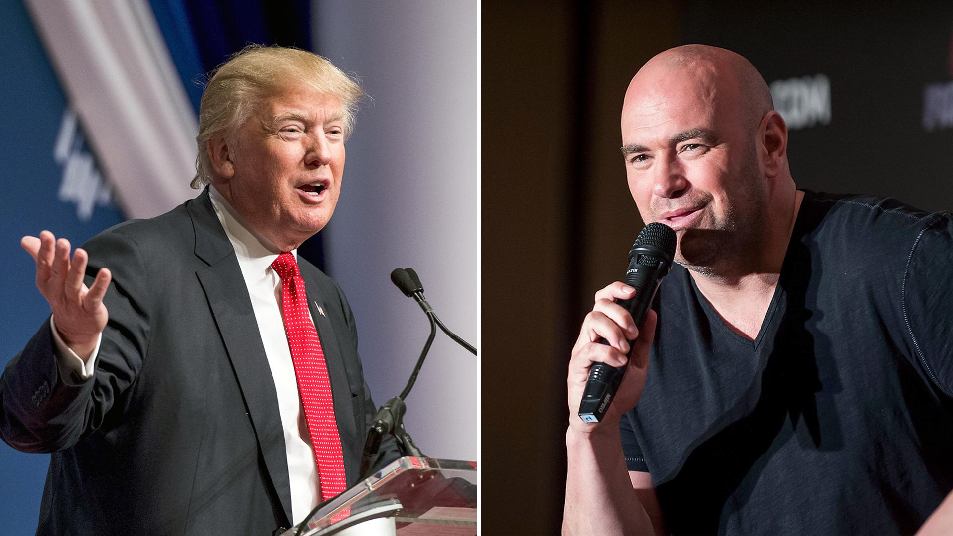 ترامب وعلاقة وطيدة مع رئيس UFC