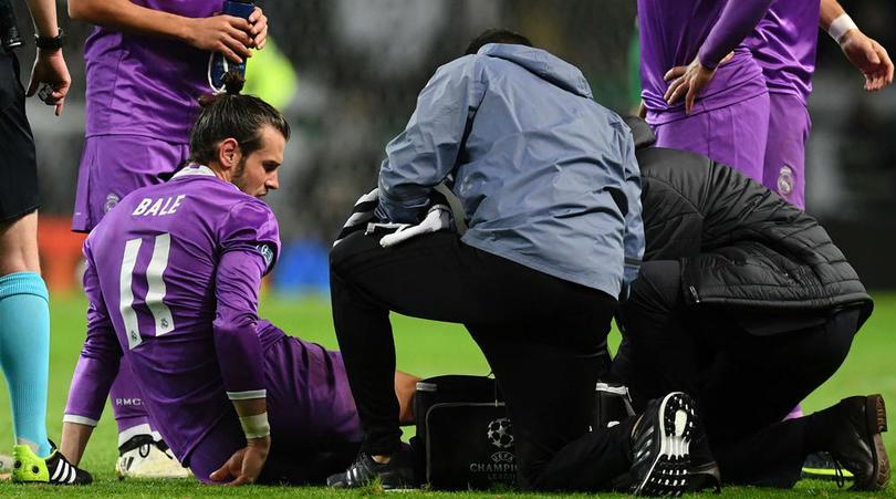 جاريث بيل يعاني من إصابة في مواجهة سيورتينج لشبونة