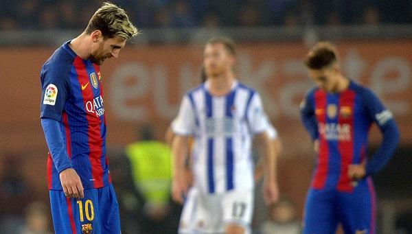 ميسي في مواجهة ريال سوسيداد