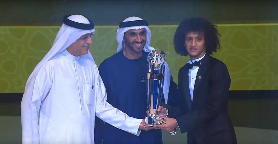 عمر عبد الرحمن أفضل لاعب في آسيا