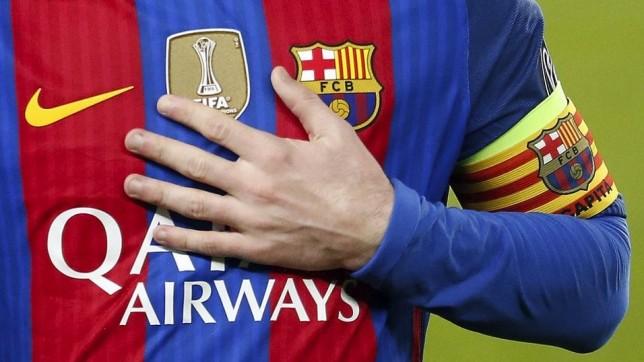 قميص برشلونة المعدل يبدأ بالظهور بعد مباراة أوساسونا - كرة عالمية - كرة إسبانية - سبورت360 عربية