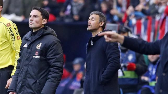 إنريكي: أداء برشلونة أمام أوساسونا جعلنيسعيداً - كرة إسبانية - برشلونة - سبورت360 عربية