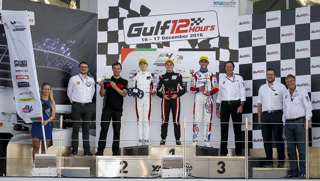 F4 UAE Podium