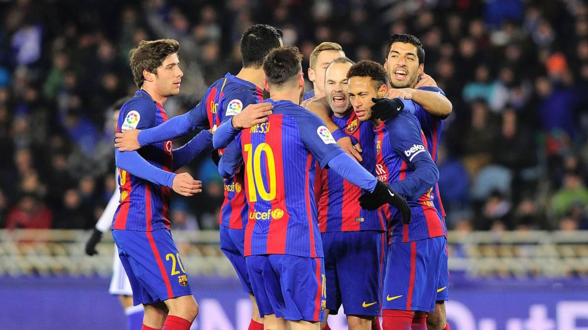 برشلونة ضد سوسيداد .. الهدف الأهم الضغط على ريال مدريد - مختارات - كرة قدم - سبورت360 عربية