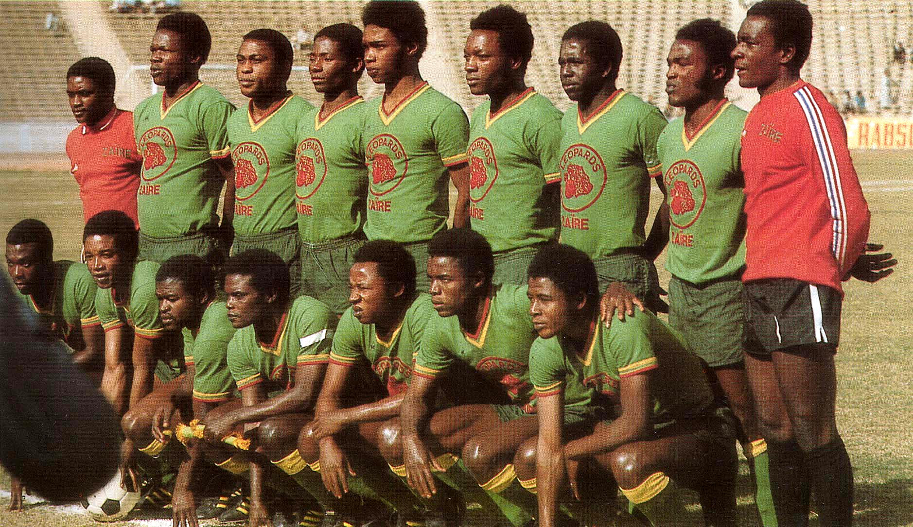 Congo DR national football team  zaire