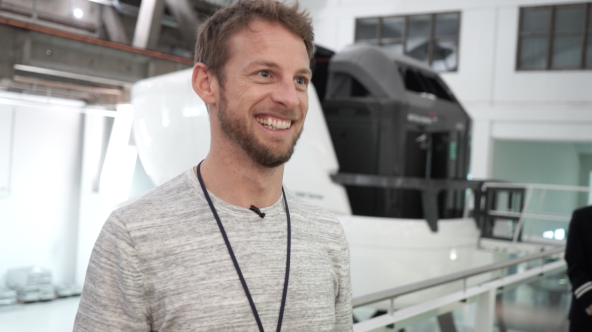 Formula 1 ace Jenson Button test drives new career as British Airways pilot CF