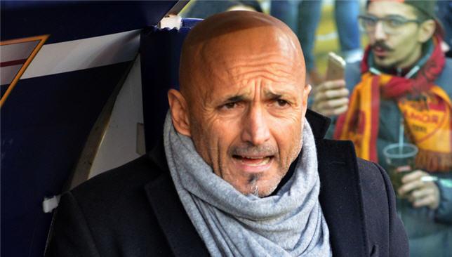 لوتشيانو سباليتي مدرب روما الإيطالي