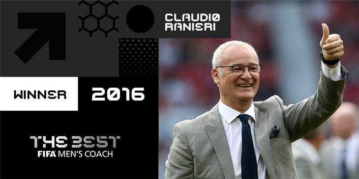 جائزة أفضل مدرب في عام 2016
