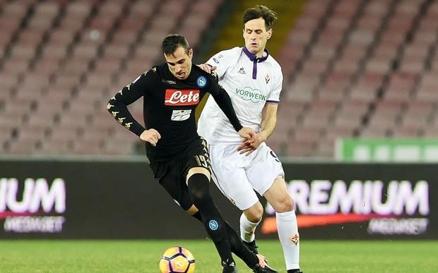 نابولي يتأهل إلى نصف نهائي كأس إيطاليا