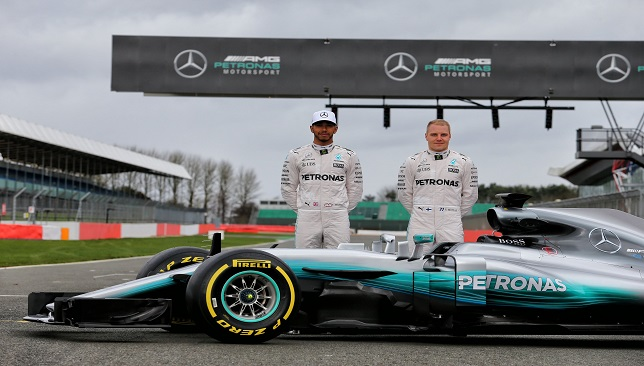 Motor Racing - Mercedes AMG F1 W08 Launch - Silverstone, England