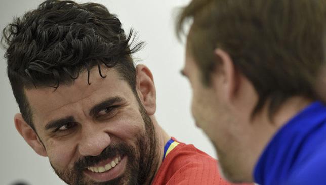 دييجو كوستا مهاجم المنتخب الإسباني
