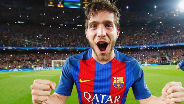 سيرجي روبرتو لاعب خط وسط برشلونة الإسباني