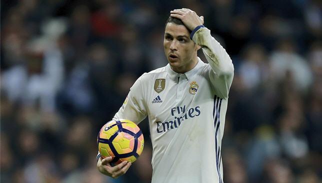 كريستيانو رونالدو لاعب ريال مدريد الإسباني