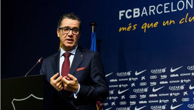روبرت فرنانديز المدير الرياضي لنادي برشلونة