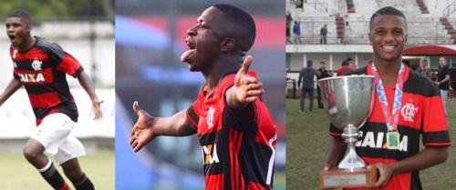 Flamengo-sub-17-trio