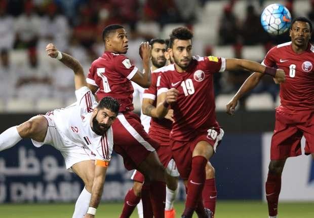 من مواجهة قطر وسوريا في مرحلة الذهاب