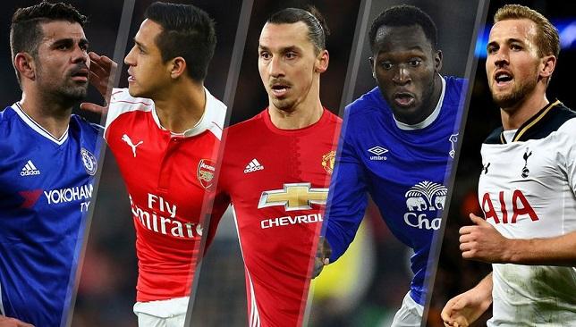 أبرز مهاجمي الدوري الإنجليزي الممتاز