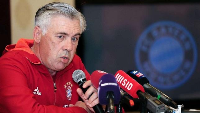 كارلو أنشيلوتي مدرب فريق بايرن ميونخ الألماني