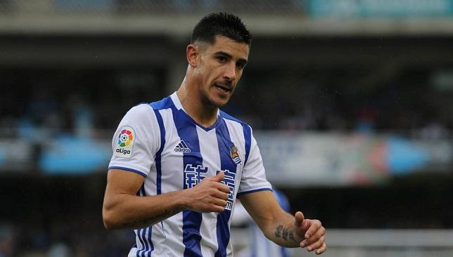 يوري بيرتشيتشي لاعب فريق ريال سوسيداد الإسباني
