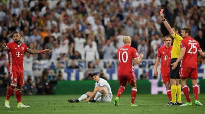 ريال مدريد × بايرن ميونخ