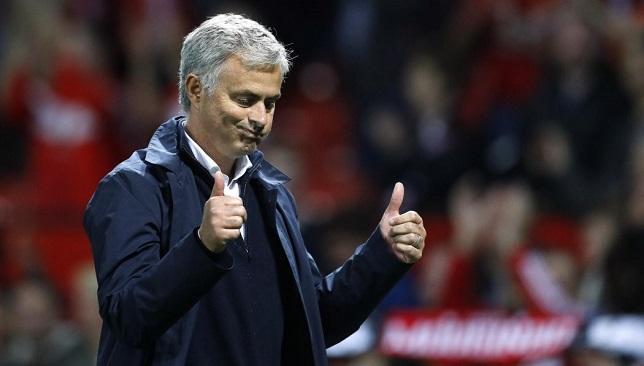 جوزيه مورينيو مدرب فريق مانشستر يونايتد الإنجليزي