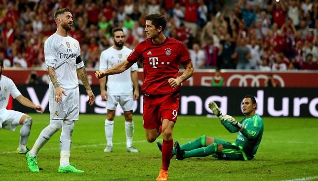 ليفاندوفسكي في مواجهة ريال مدريد