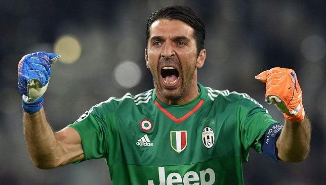 جيانلويجي بوفون حارس مرمى فريق يوفنتوس الإيطالي