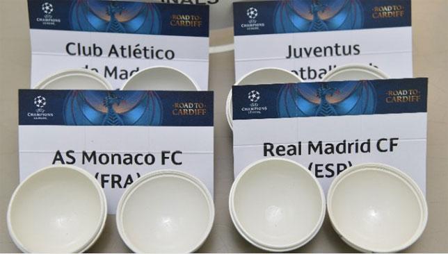 قرعة دوري أبطال أوروبا - نصف النهائي