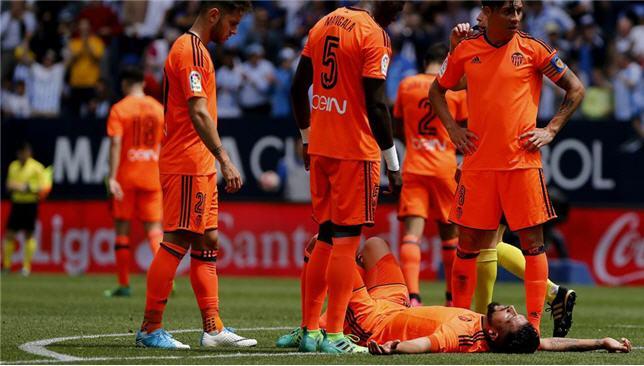 إزيكويل جاراي مدافع فالنسيا الإسباني